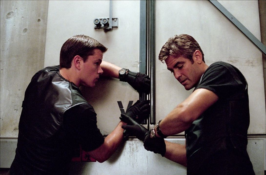Ocean's Eleven : Bild George Clooney, Matt Damon