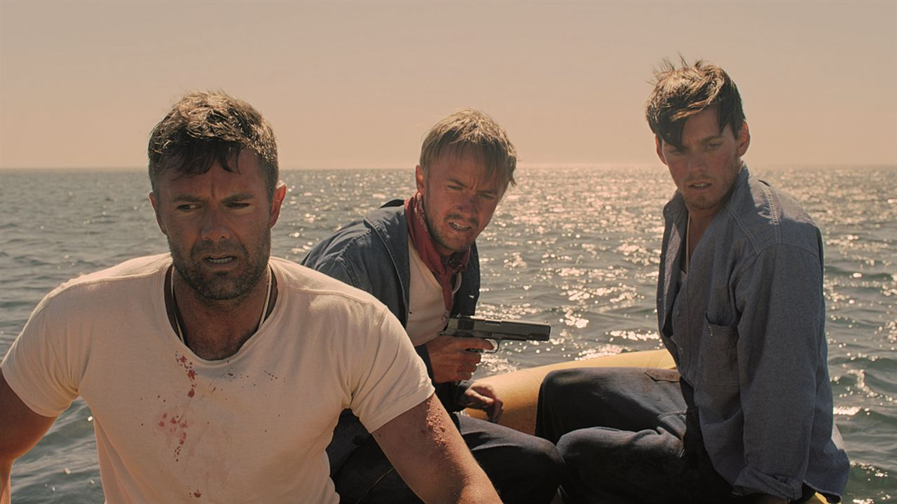 Against the Sun : Bild Garret Dillahunt, Jake Abel, Tom Felton