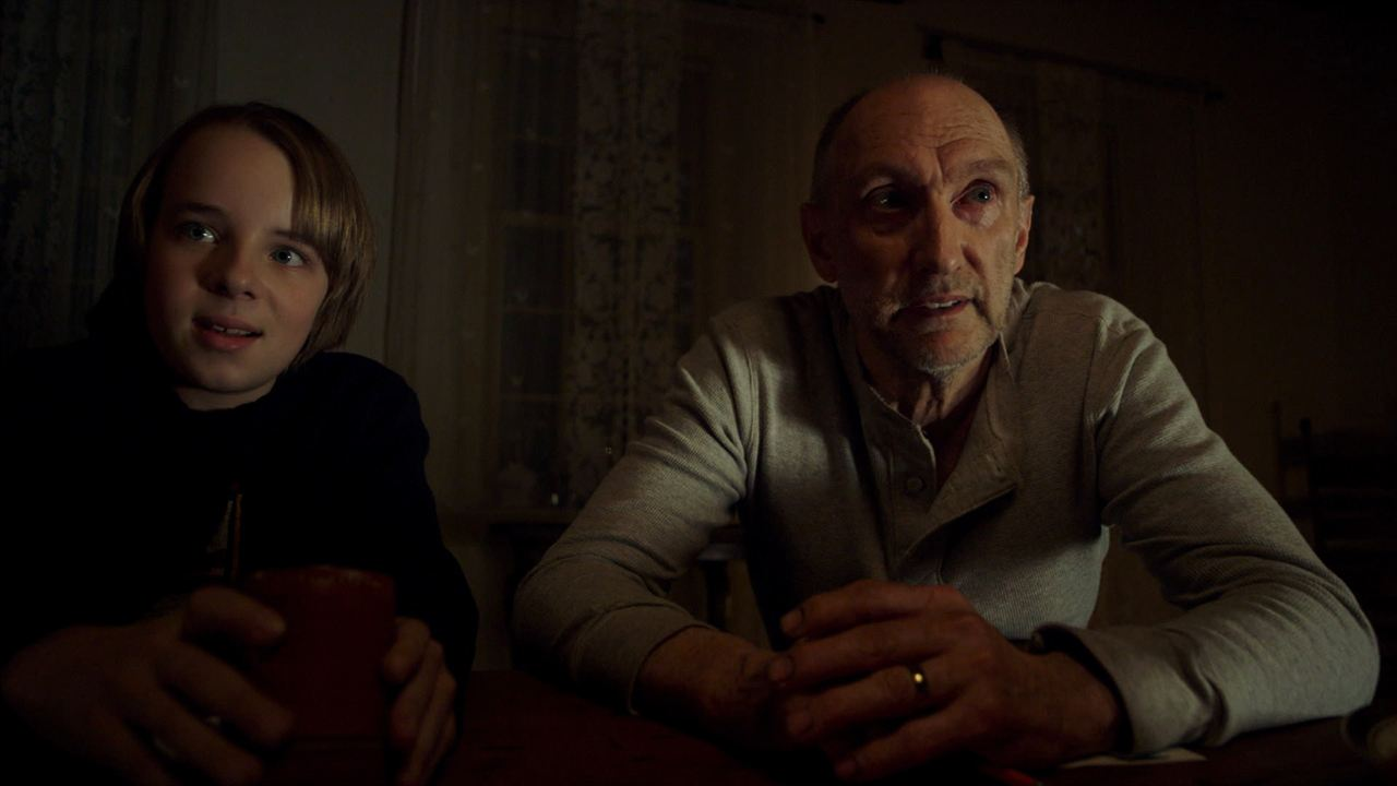 The Visit : Bild Ed Oxenbould, Peter McRobbie