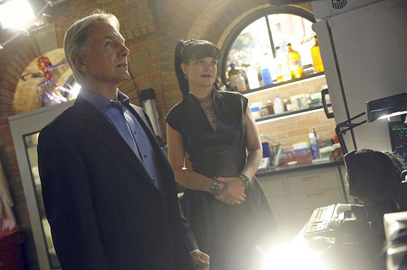 Bild Mark Harmon, Pauley Perrette