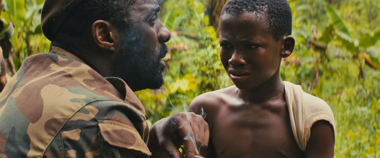 Beasts Of No Nation : Bild Abraham Attah, Idris Elba