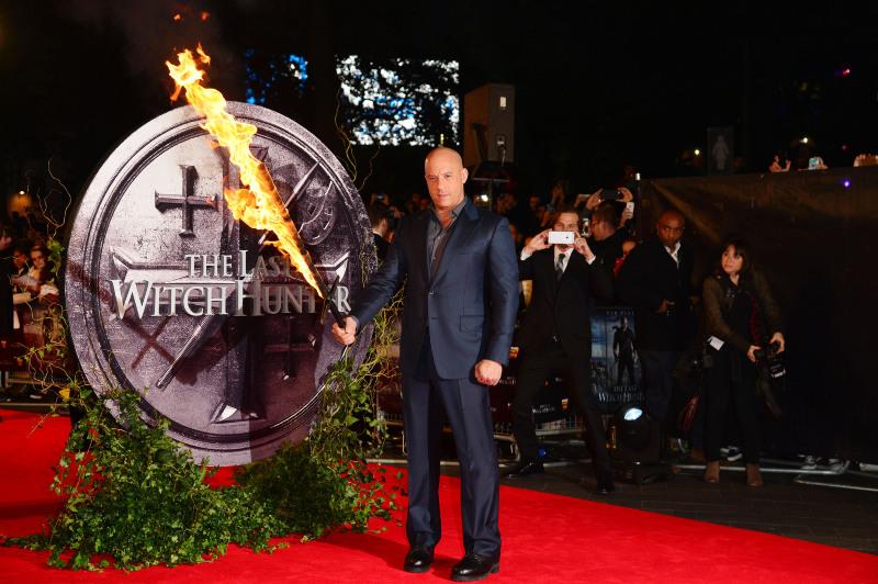 The Last Witch Hunter : Vignette (magazine) Vin Diesel