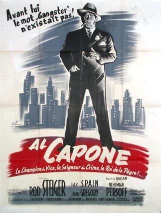 Al Capone : Kinoposter