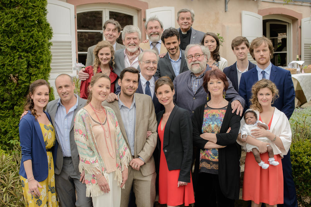 Bild Agathe Boussières, Alexandre Thibault, Anny Duperey, Bernard Le Coq, Daniel Tarrare