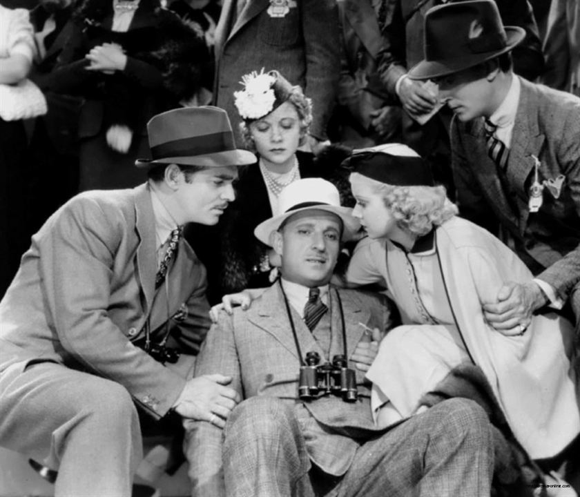 Saratoga: Jean Harlow, Clark Gable