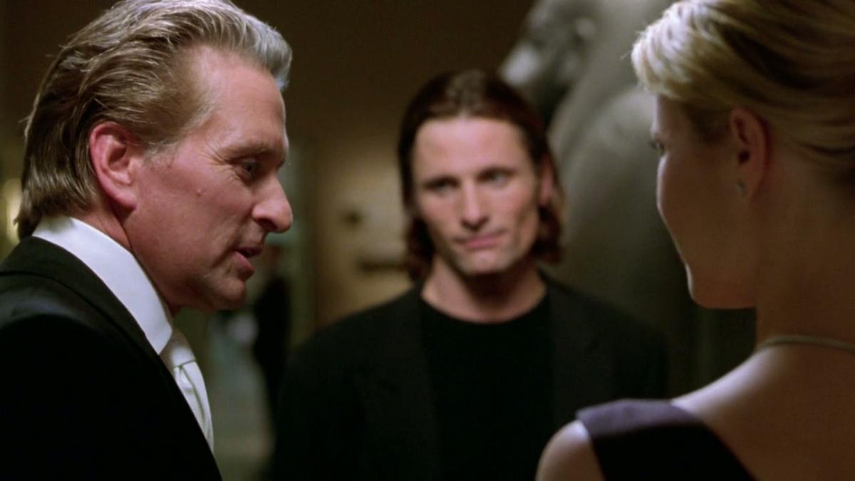Ein perfekter Mord : Bild Gwyneth Paltrow, Michael Douglas, Viggo Mortensen