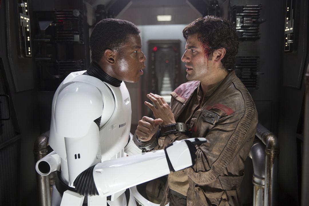 Star Wars: Das Erwachen der Macht : Bild John Boyega, Oscar Isaac