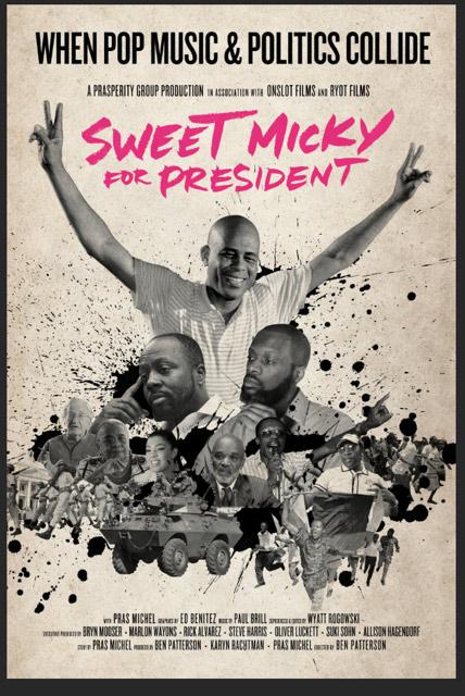 Sweet Micky for President : Kinoposter