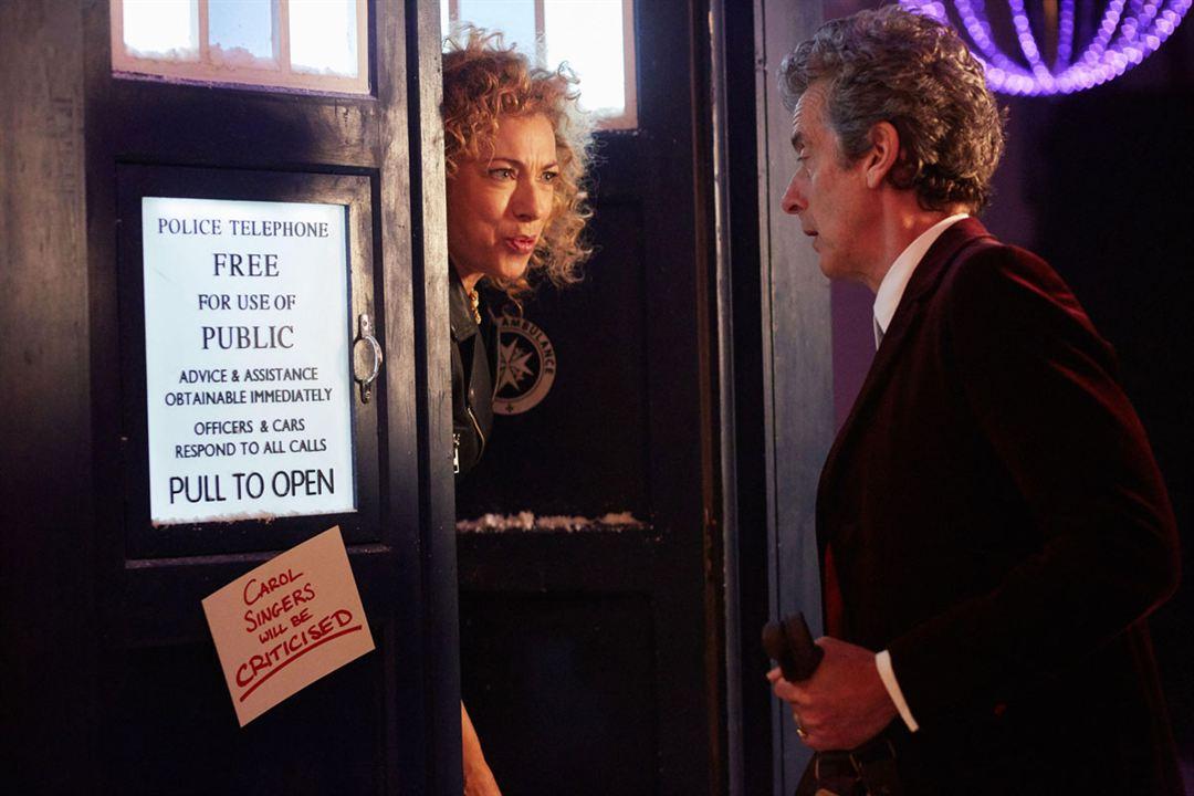 Bild Alex Kingston, Peter Capaldi