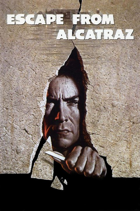 Flucht von Alcatraz : Kinoposter