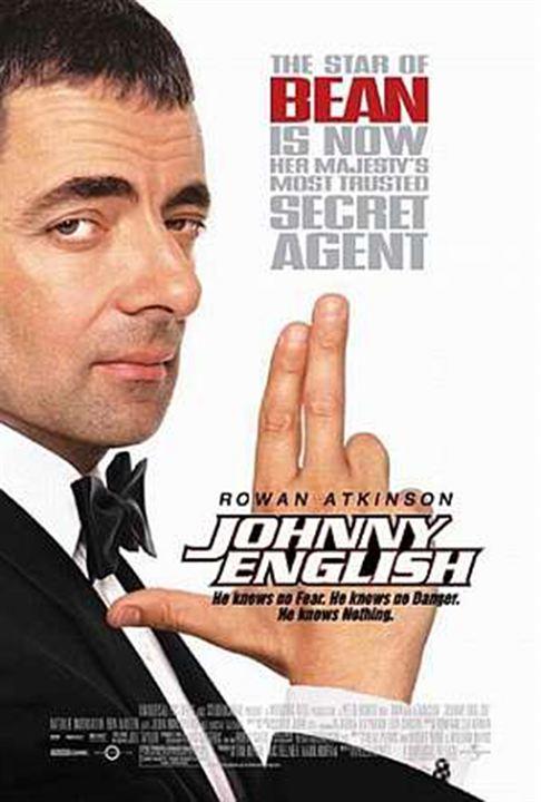 Johnny English - Der Spion, der es versiebte : Kinoposter