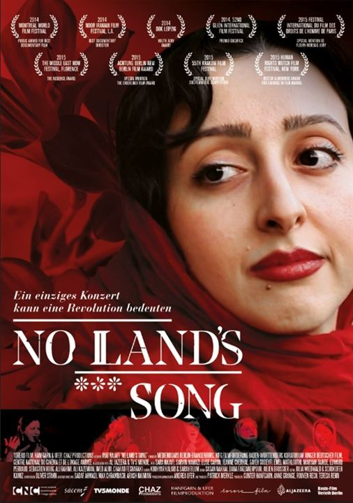 No Land's Song : Kinoposter