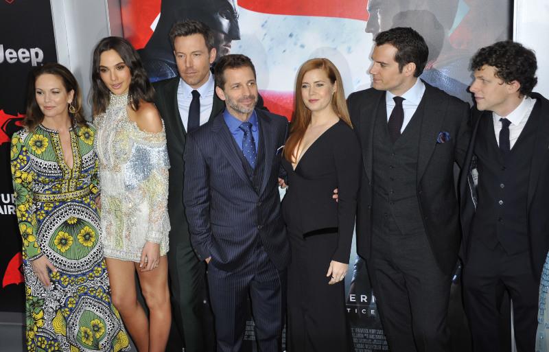 Batman V Superman: Dawn Of Justice : Vignette (magazine) Amy Adams, Ben Affleck, Diane Lane, Gal Gadot, Henry Cavill