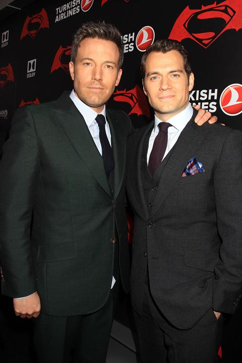 Batman V Superman: Dawn Of Justice : Vignette (magazine) Ben Affleck, Henry Cavill
