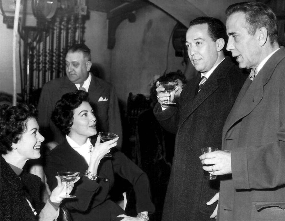 Die barfüßige Gräfin : Bild Ava Gardner, Humphrey Bogart