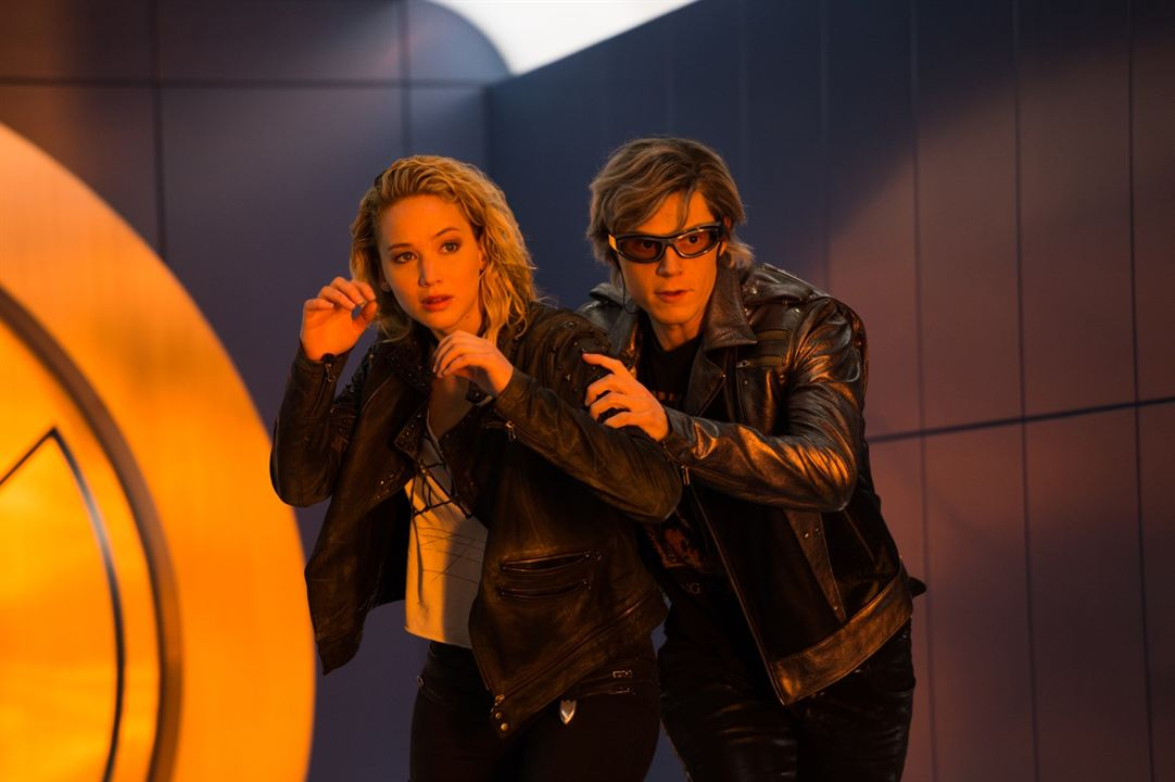 X-Men: Apocalypse : Bild Evan Peters, Jennifer Lawrence