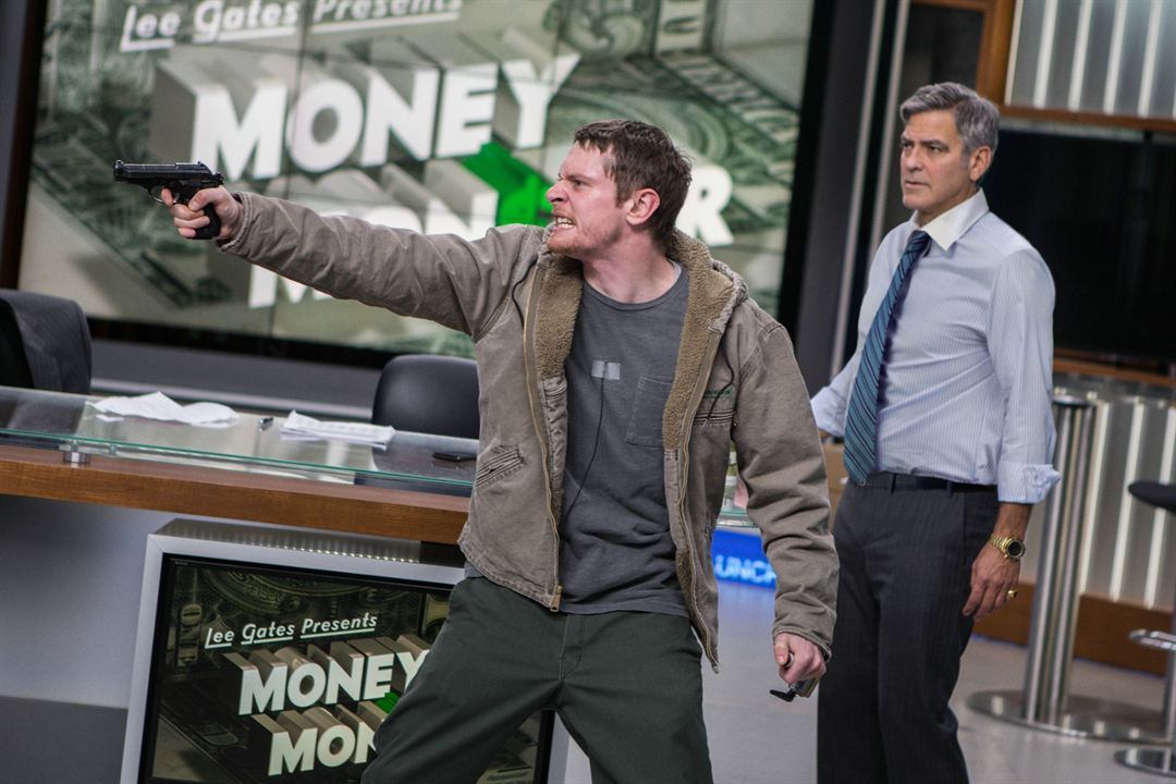 Money Monster : Bild George Clooney, Jack O'Connell