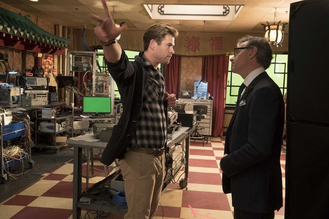 Ghostbusters : Bild Chris Hemsworth, Paul Feig