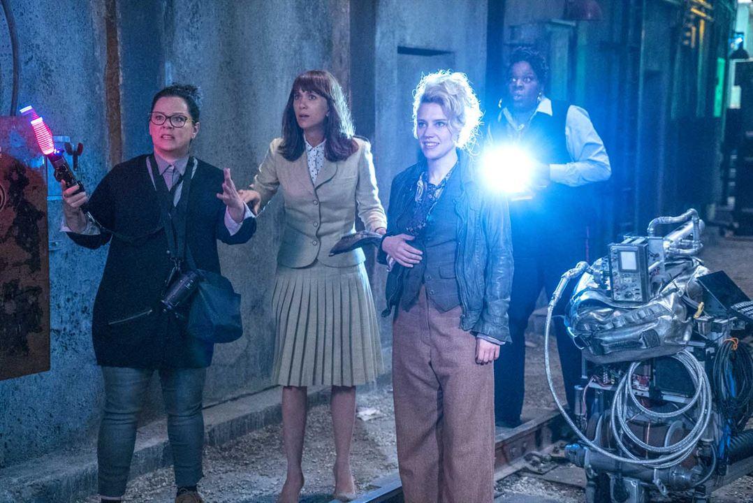 Ghostbusters : Bild Kate McKinnon, Kristen Wiig, Leslie Jones (II), Melissa McCarthy