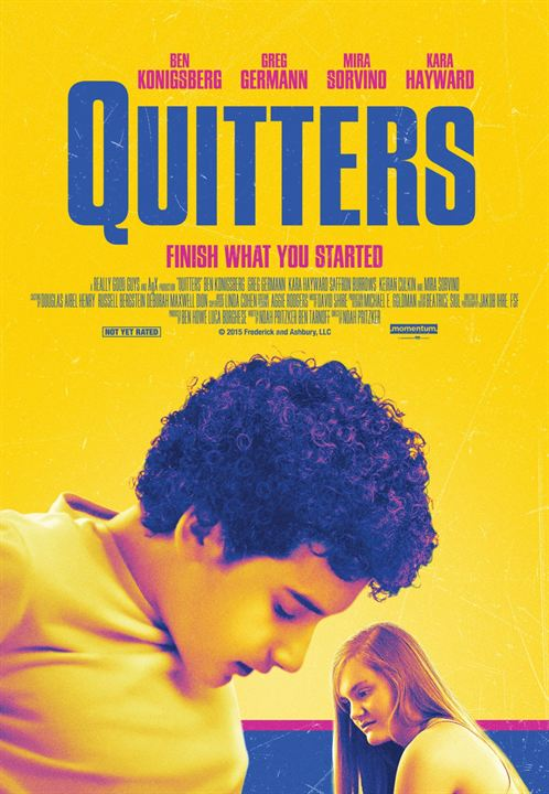 Quitters : Kinoposter