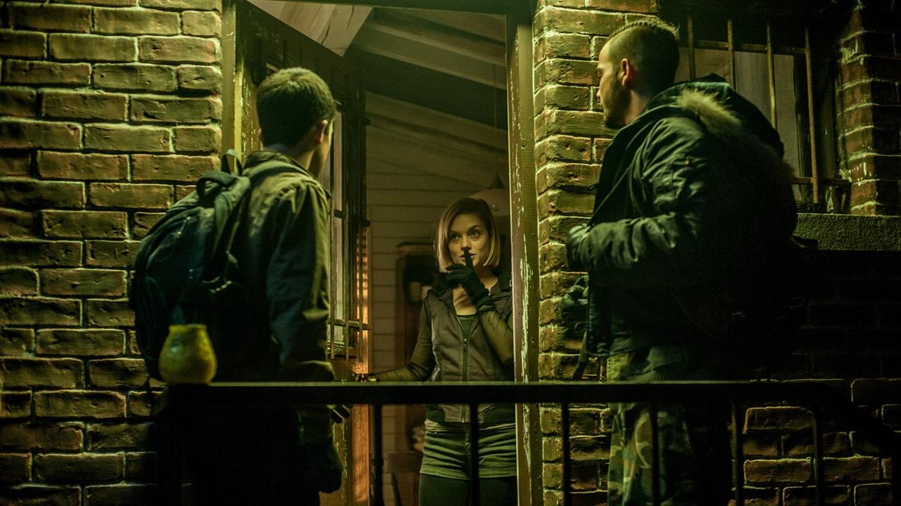 Don't Breathe : Bild Daniel Zovatto, Dylan Minnette, Jane Levy