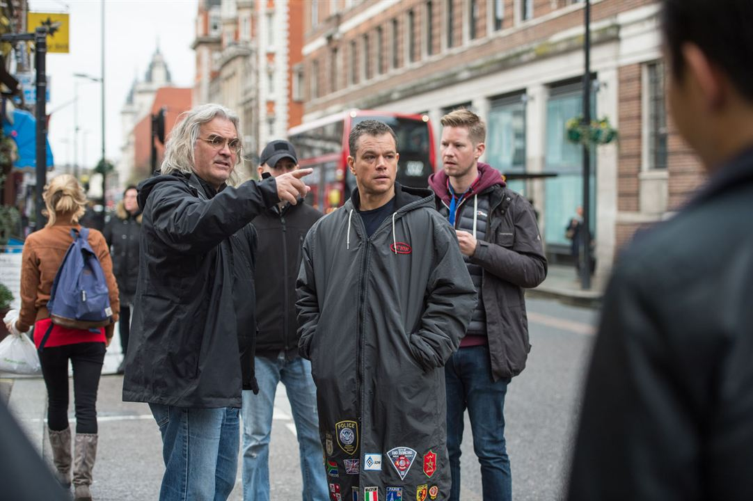 Jason Bourne : Bild Matt Damon, Paul Greengrass