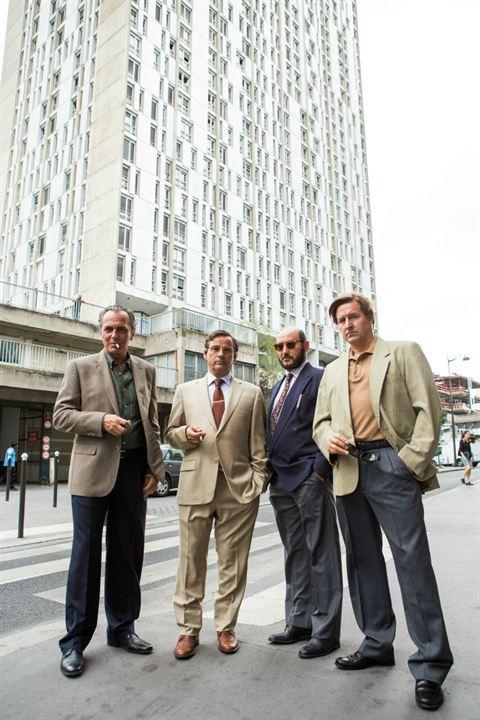 Bild Carlos Santos, Eduard Fernández, Jim Arnold, José Coronado