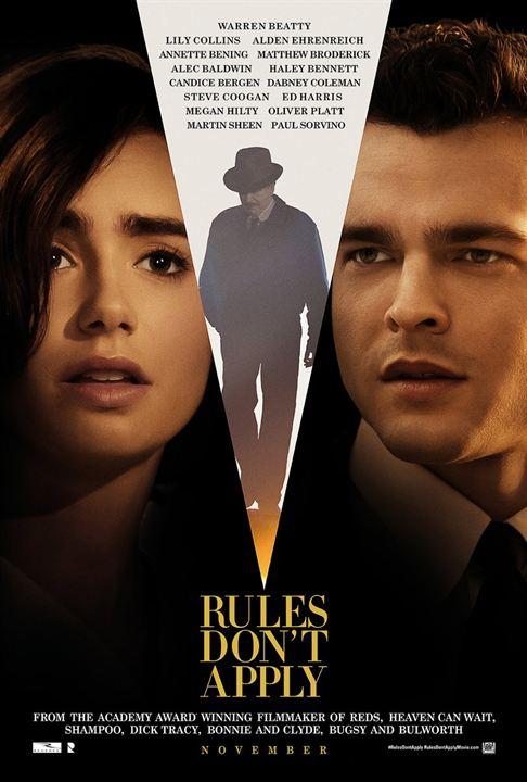 Regeln spielen keine Rolle : Kinoposter
