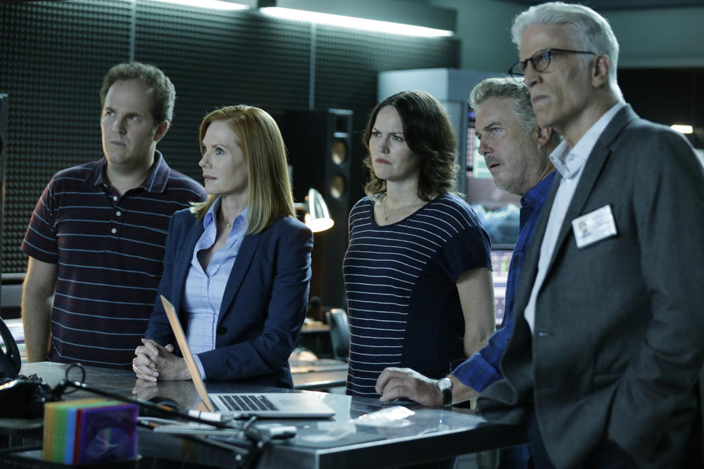 Bild David Berman, Jorja Fox, Marg Helgenberger, Ted Danson, William L. Petersen