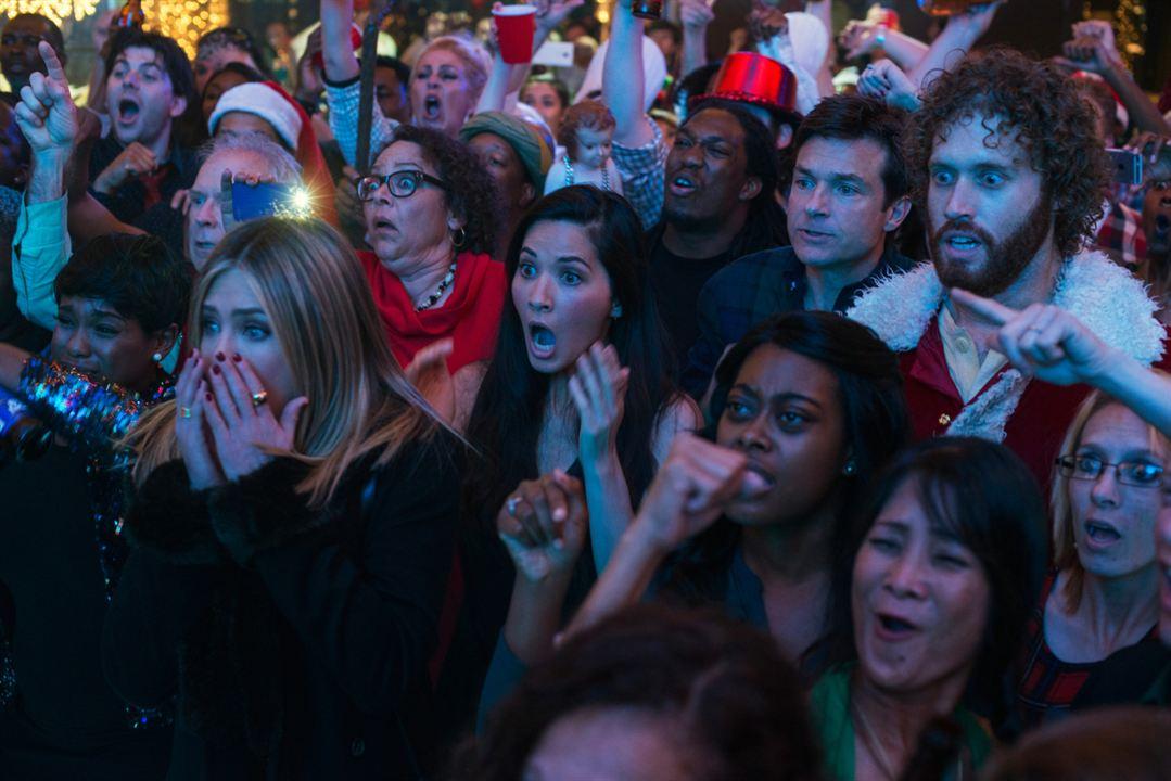 Office Christmas Party : Bild Jason Bateman, Jennifer Aniston, Olivia Munn, T.J. Miller