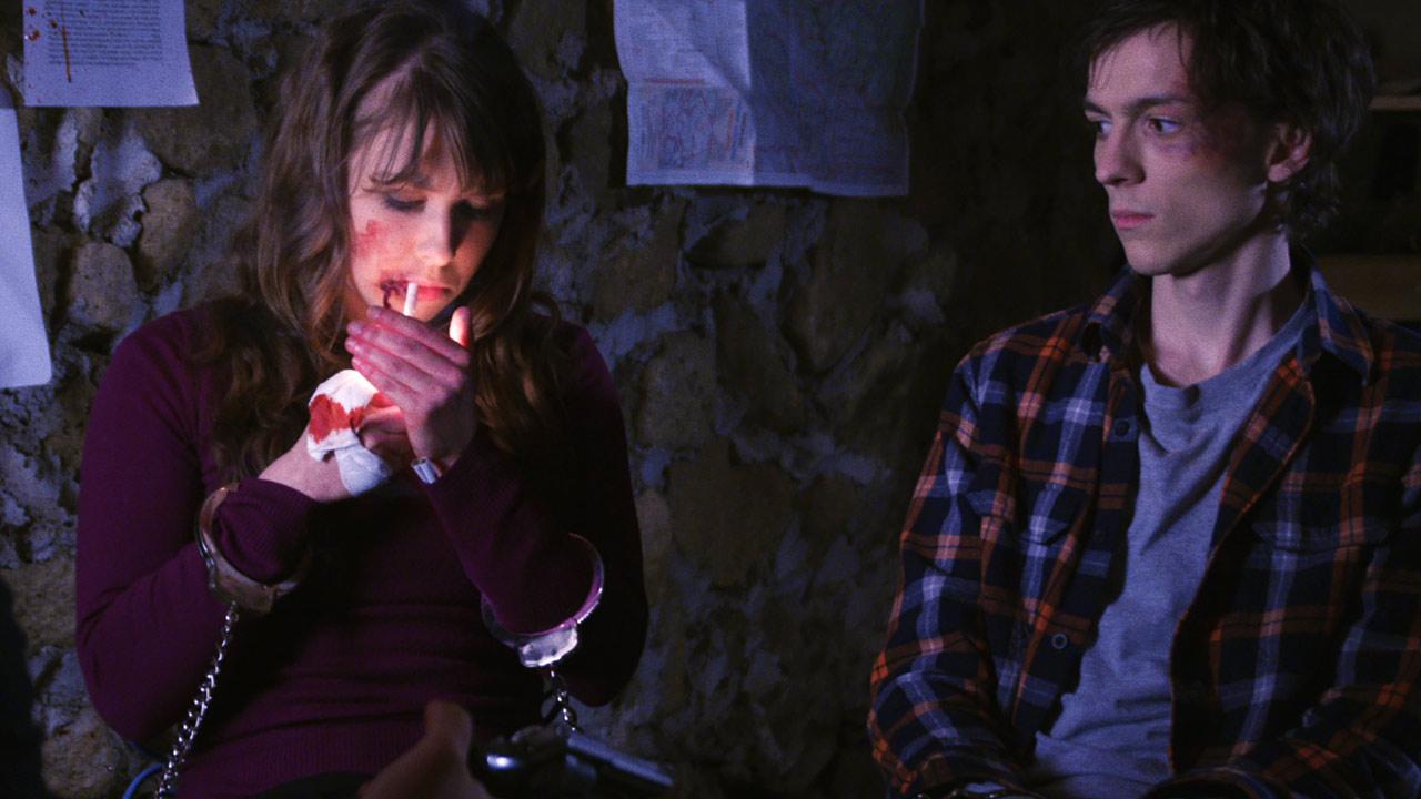 Blood Punch - Und täglich grüßt der Tod : Bild Milo Cawthorne, Olivia Tennet