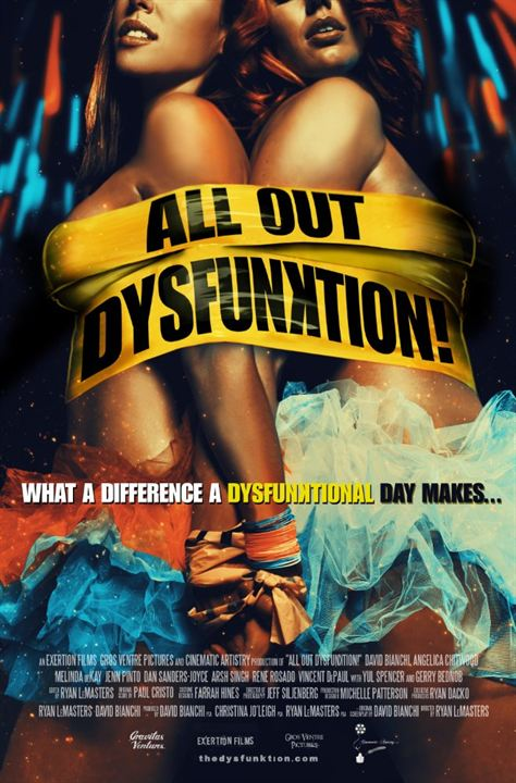 All Out Dysfunktion! : Kinoposter