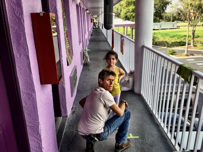 The Florida Project : Bild Brooklynn Prince, Willem Dafoe