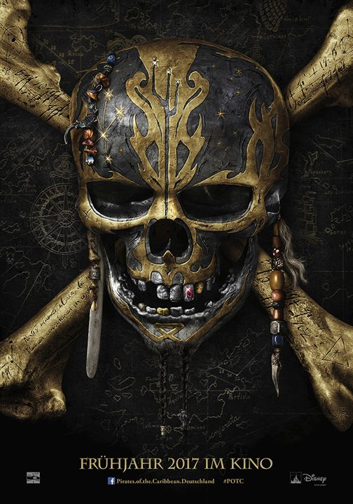 Pirates Of The Caribbean 5: Salazars Rache : Kinoposter