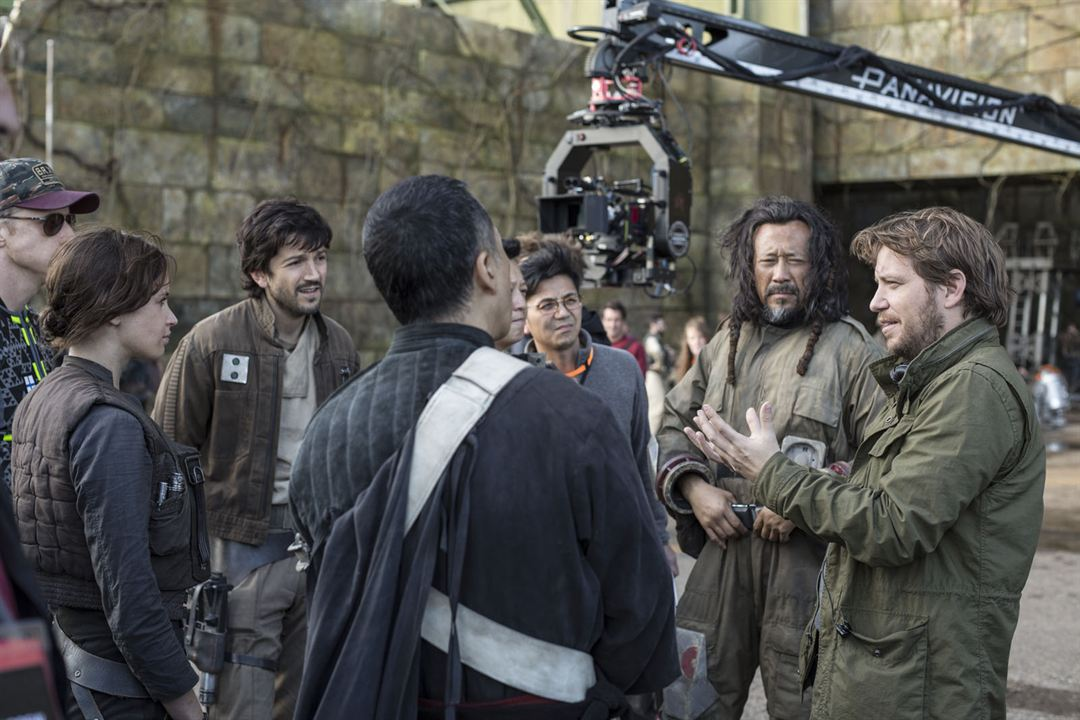 Rogue One: A Star Wars Story : Bild Diego Luna, Donnie Yen, Felicity Jones, Gareth Edwards (V), Jiang Wen