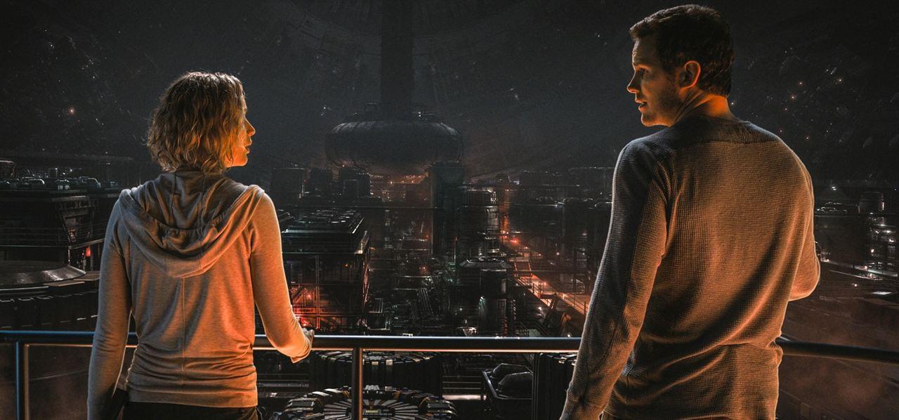 Passengers : Bild Chris Pratt, Jennifer Lawrence
