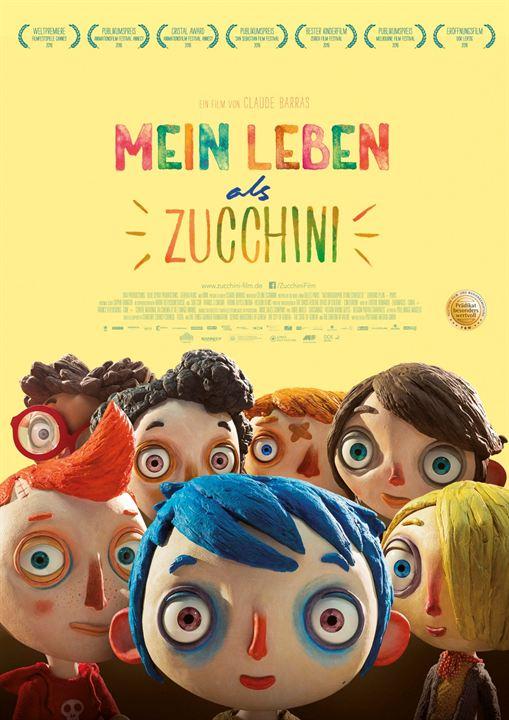 Mein Leben als Zucchini : Kinoposter