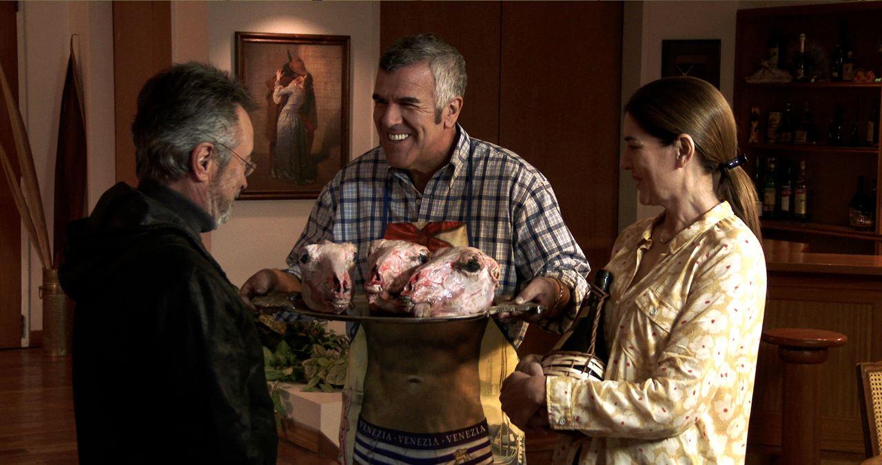 Der Nobelpreisträger : Bild Andrea Frigerio, Dady Brieva, Oscar Martinez