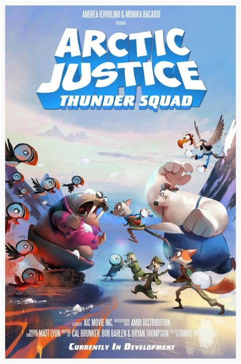 Arctic Justice: Thunder Squad : Kinoposter