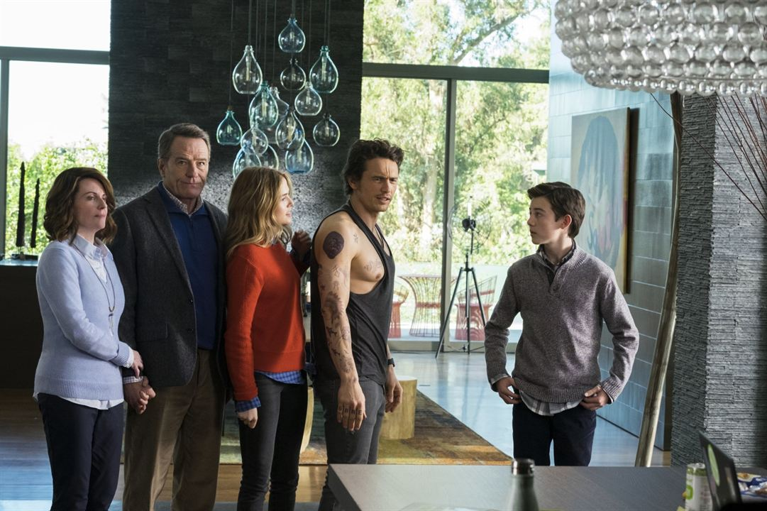 Why Him? : Bild Bryan Cranston, Griffin Gluck, James Franco, Megan Mullally, Zoey Deutch