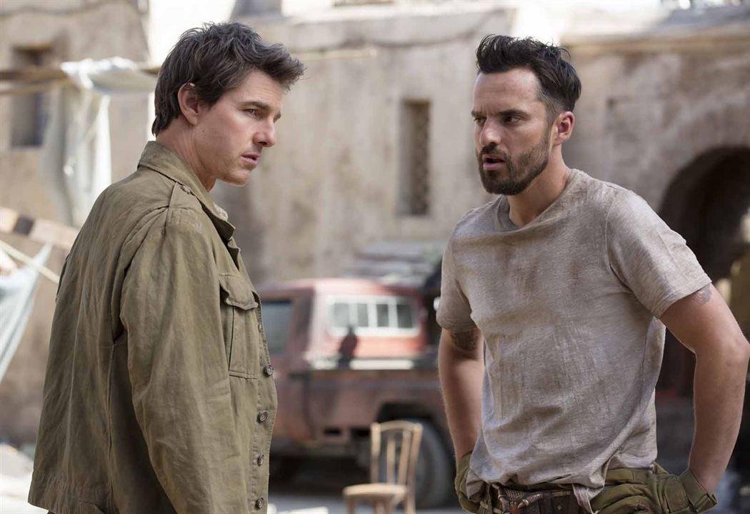Die Mumie : Bild Jake Johnson (XVI), Tom Cruise