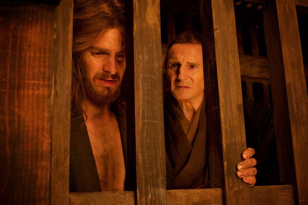 Silence : Bild Andrew Garfield, Liam Neeson