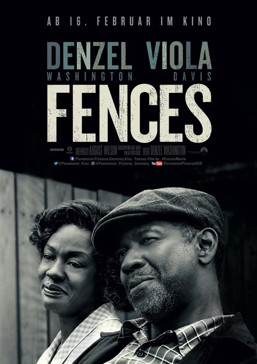 Fences : Kinoposter