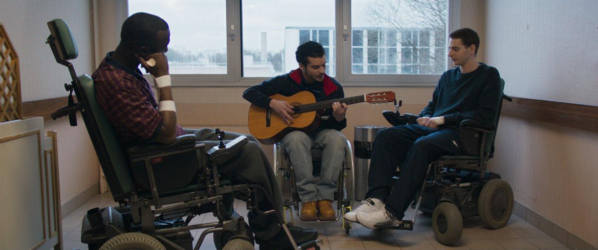 Lieber leben : Bild Moussa Mansaly, Pablo Pauly, Soufiane Guerrab