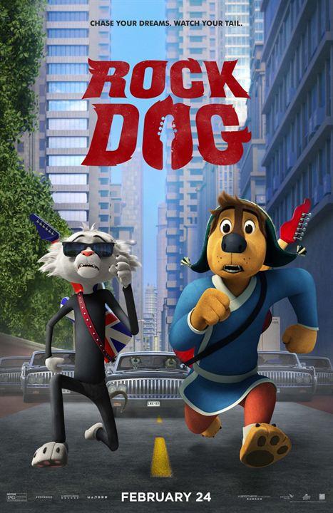 Rock Dog : Kinoposter
