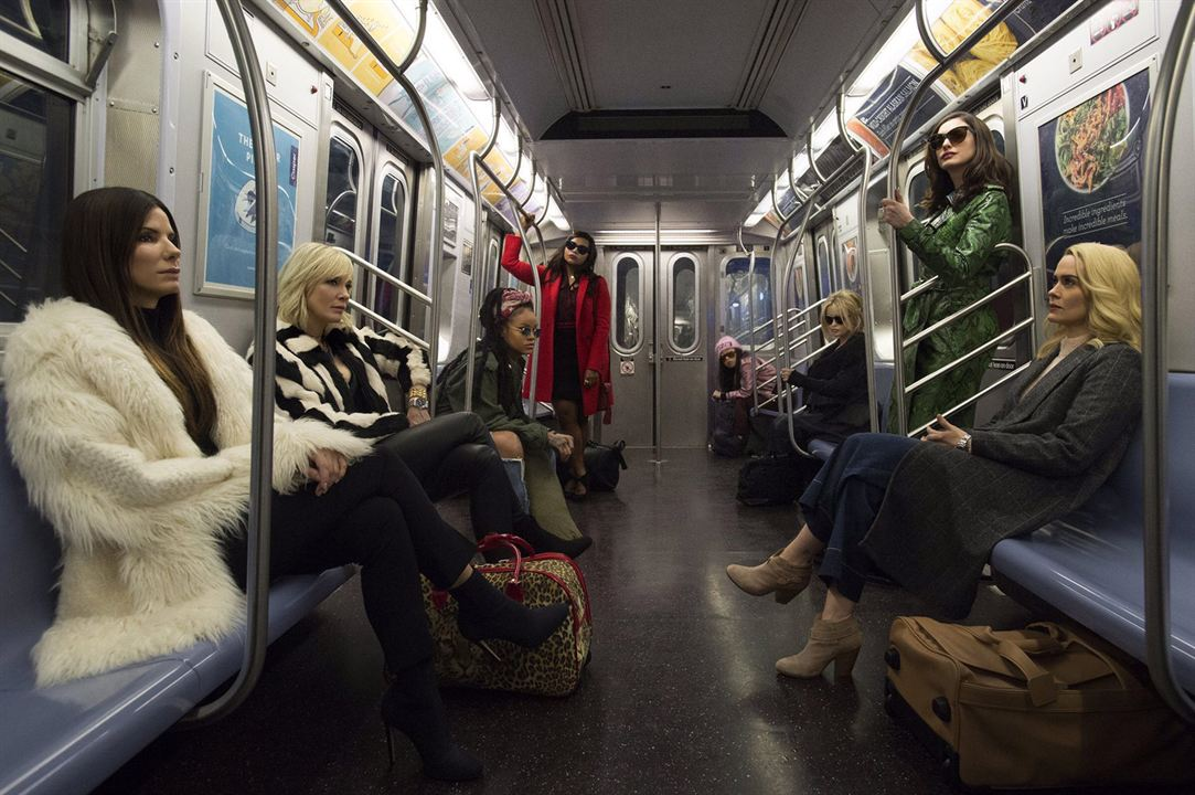 Ocean's 8 : Bild Anne Hathaway, Awkwafina, Cate Blanchett, Helena Bonham Carter, Mindy Kaling