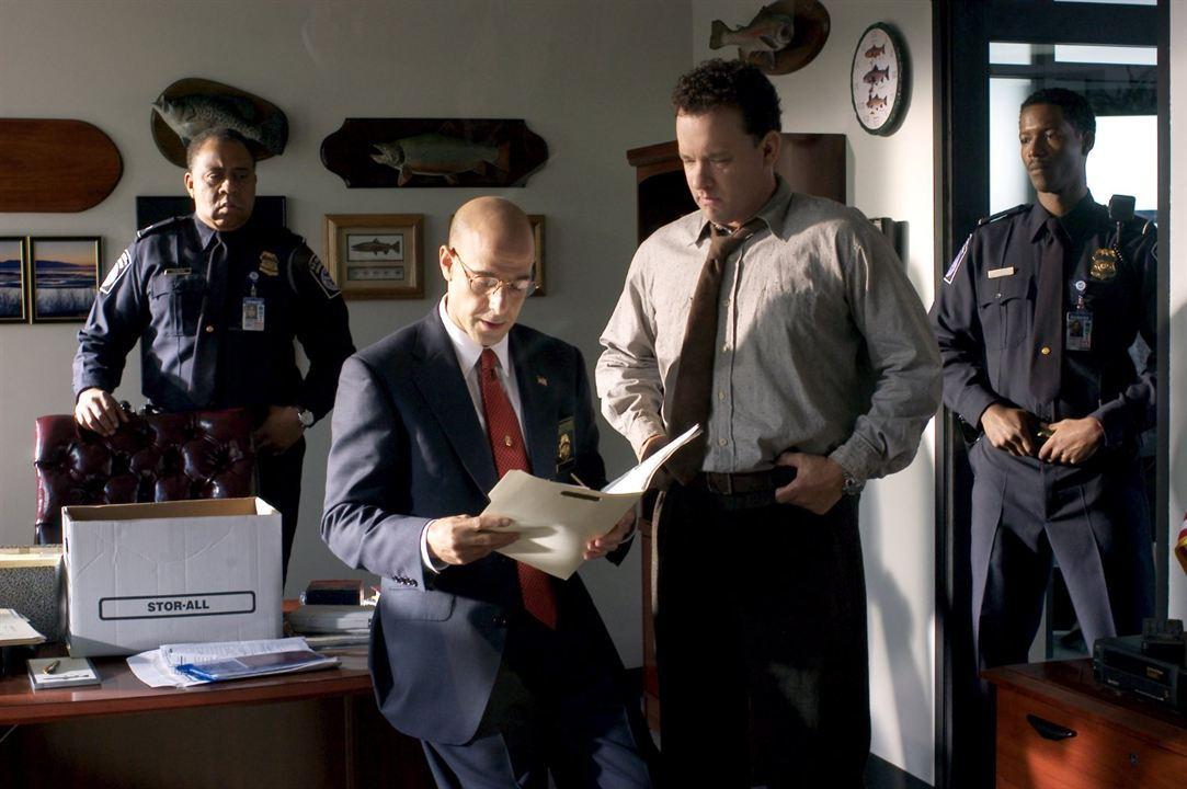 Terminal : Bild Barry Shabaka Henley, Corey Reynolds, Stanley Tucci, Tom Hanks