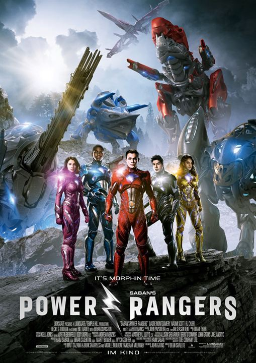 Power Rangers : Kinoposter