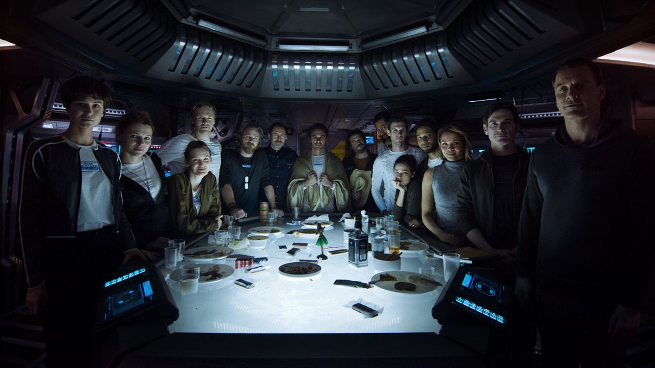 Alien: Covenant : Bild Billy Crudup, Callie Hernandez, Carmen Ejogo, Danny McBride, Demian Bichir