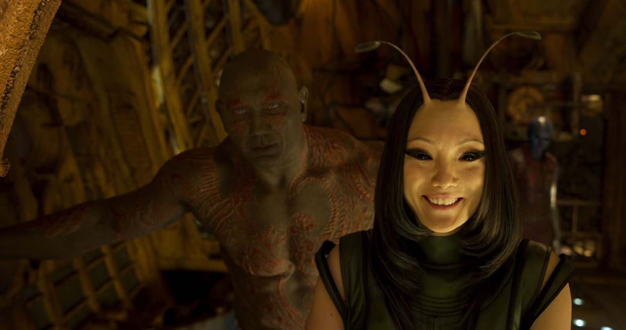 Guardians Of The Galaxy Vol. 2 : Bild Dave Bautista, Pom Klementieff